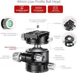 cabezal 300x286 - Accesorios de cámaras Fotográficas
