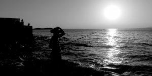Pescador1 300x151 - Fotografía a Contraluz