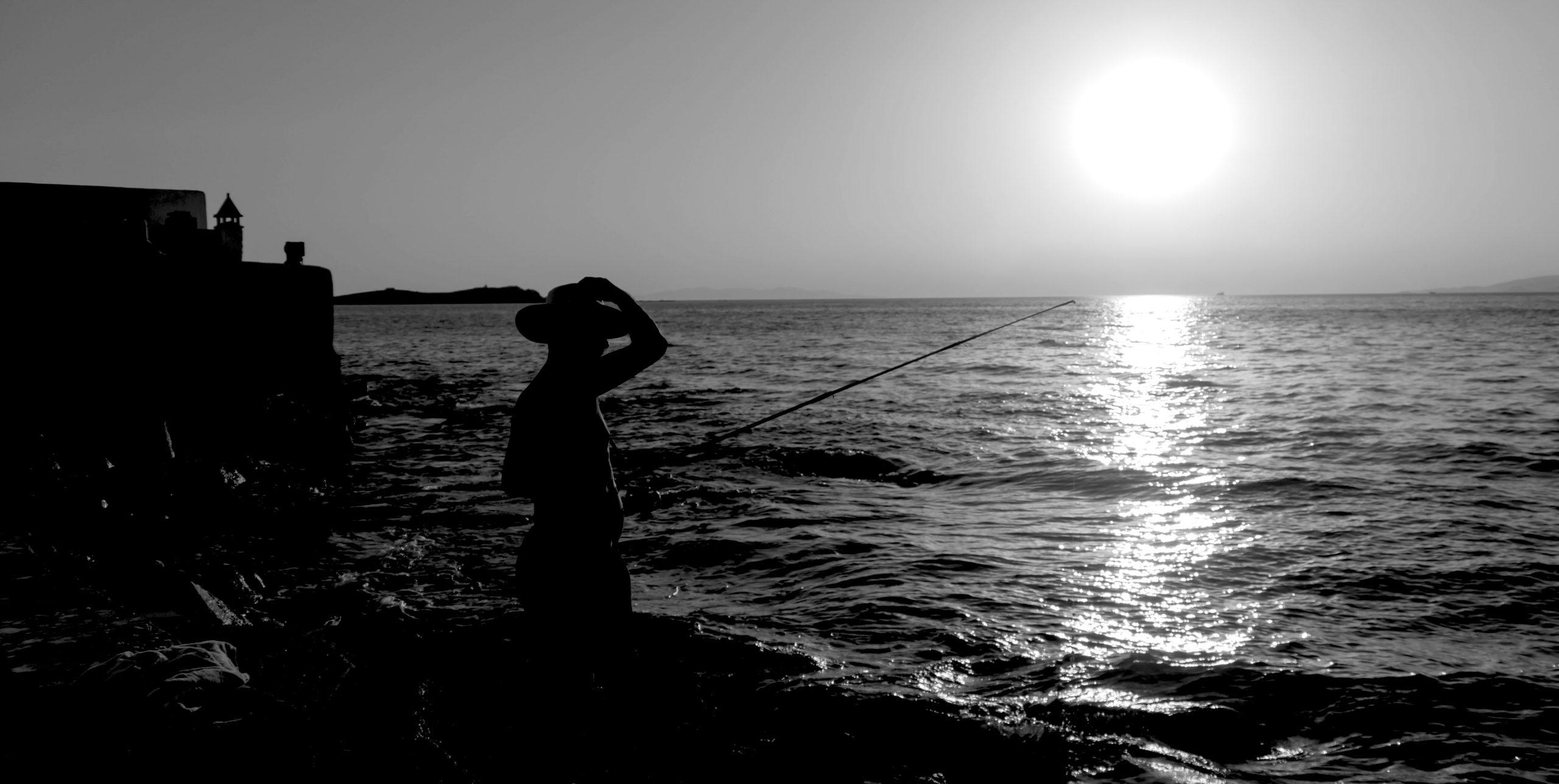 Pescador1 scaled - Fotografía a Contraluz