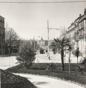 alcala desde puerta 1906 293x300 - Fotos Antiguas de Madrid