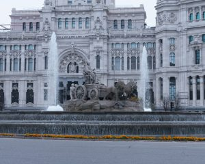 cibeles 300x240 - Fotos Antiguas de Madrid