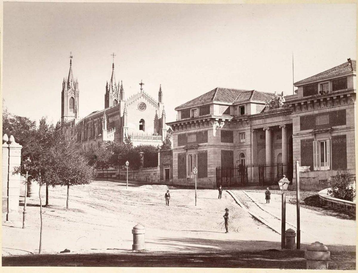 fotografía antigua del museo del prado